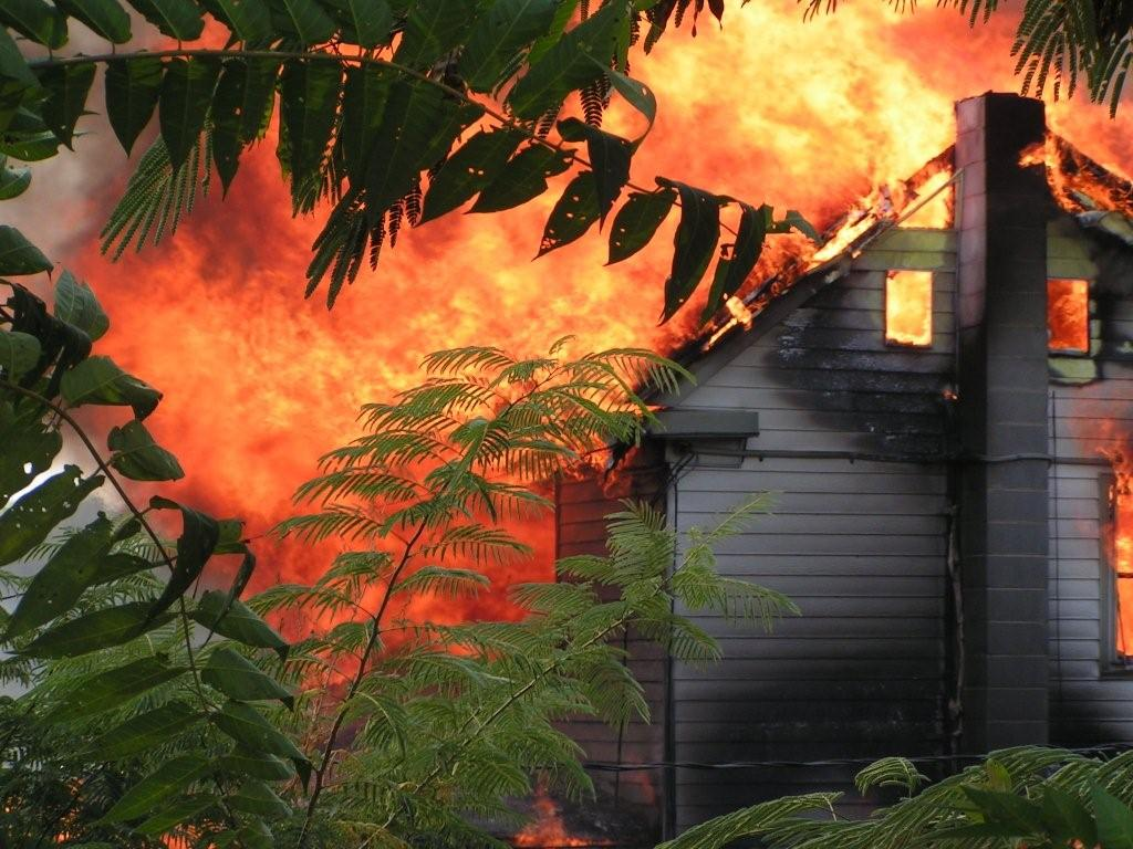 8th house Fire