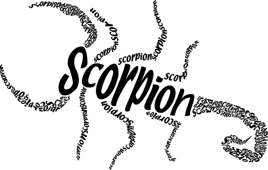Logo for Scorpion Tequila Alcohol !!